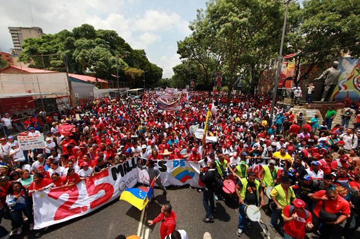 The march demanding that classes resume (MiPPCI / Miguel Moya)