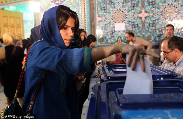 In the June elections, Iranians voted in a president widely viewed as a moderate (AFP/Getty Images)