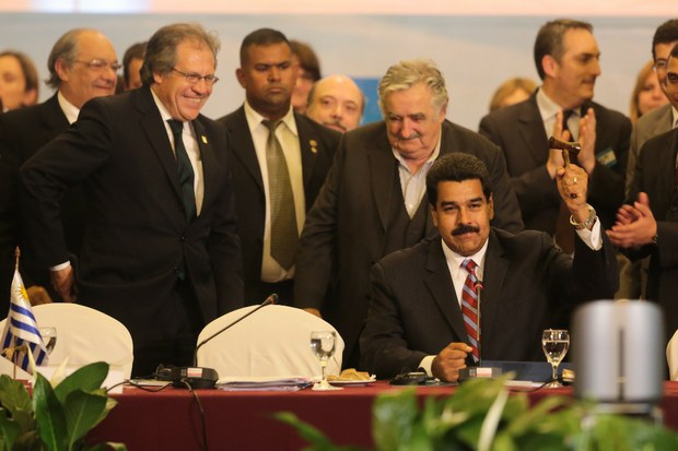 Venezuela started its six month term of presidency of the Mercosur bloc today (VTV)