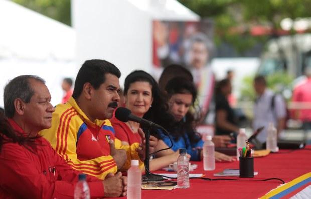 Maduro in Sucre state (Prensa Miraflores).