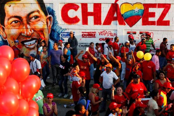Supporters of Chavez before the 2012 presidential elections (NYTX)