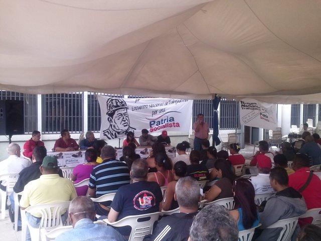 The meeting took place last weekend in Caracas (Prensa Patria Socialista)