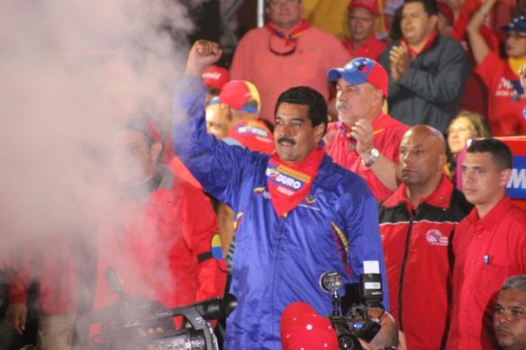 Nicolas Maduro in Merida, April 2013 (Ryan Mallett-Outtrim/NACLA)
