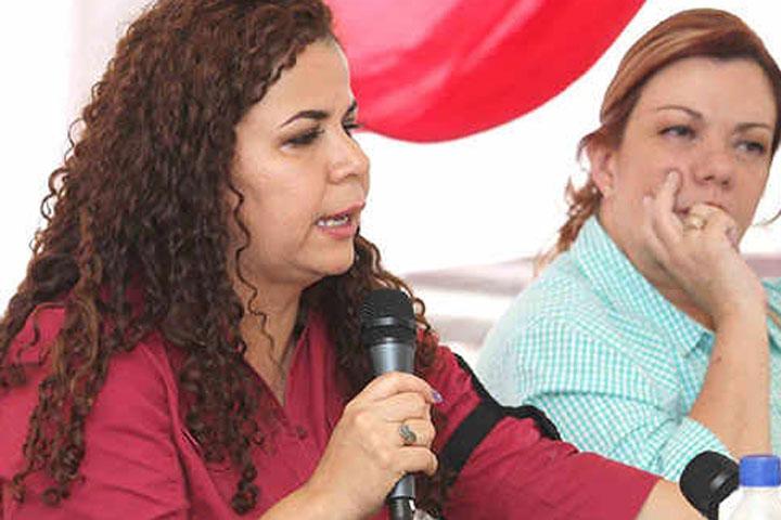 Prisons Minister Iris Varela (Agencias/Caracas)