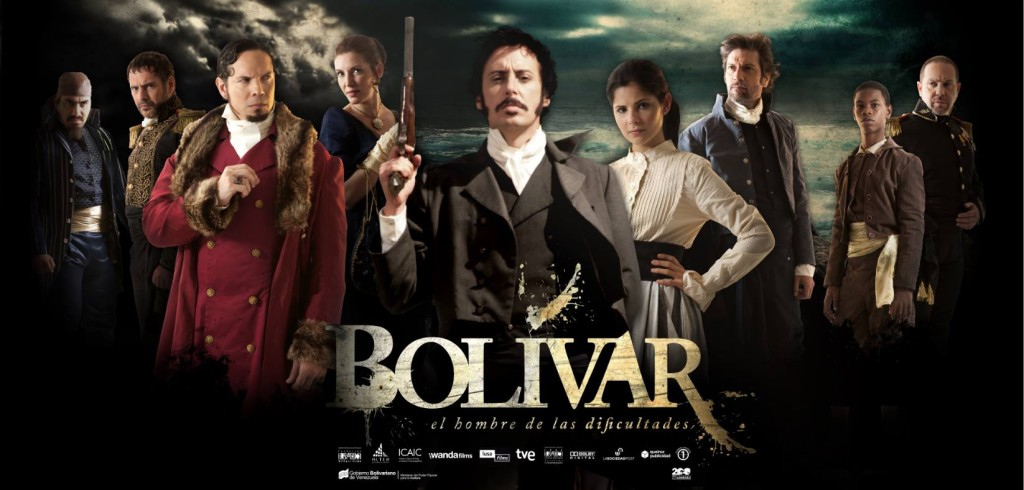 "The film ""Bolivar, the man of difficulties"" will be shown in Venezuela beginning August 16. (Sibci)"
