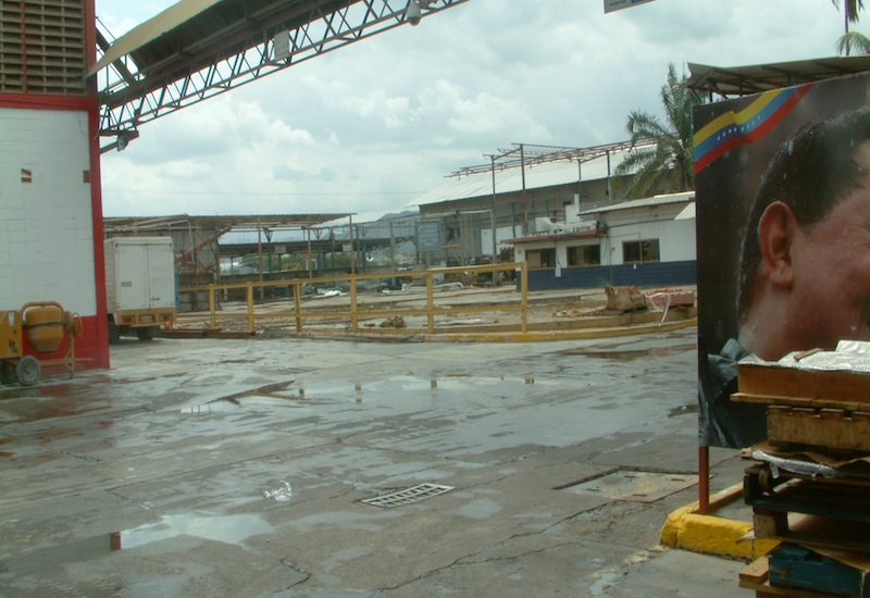 Extension of the plant currently underway (Aporrea Tvi)