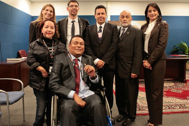 On Tuesday, Venezuela was added to the list of over 150 signatories to the Convention on the Rights of Persons with Disabilities, which first came into effect in 2008 (MPPRE)