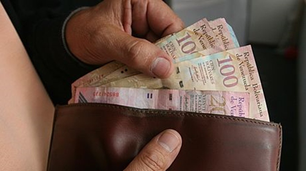 Venezuela's second minimum wage increase of the year came into effect today  (Ernesto Morgado / Archive)