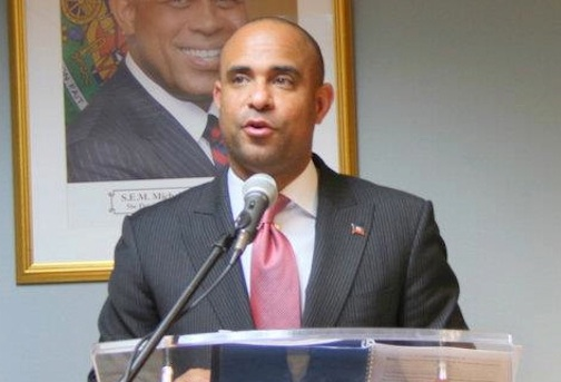 Lamothe visited Caracas earlier this week to discuss Haitian commitments under Petrocaribe (OPM)