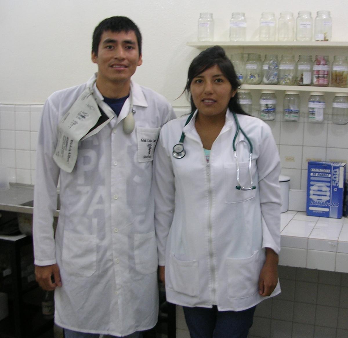 #5 Erick Cuba and Viviana Arequipa