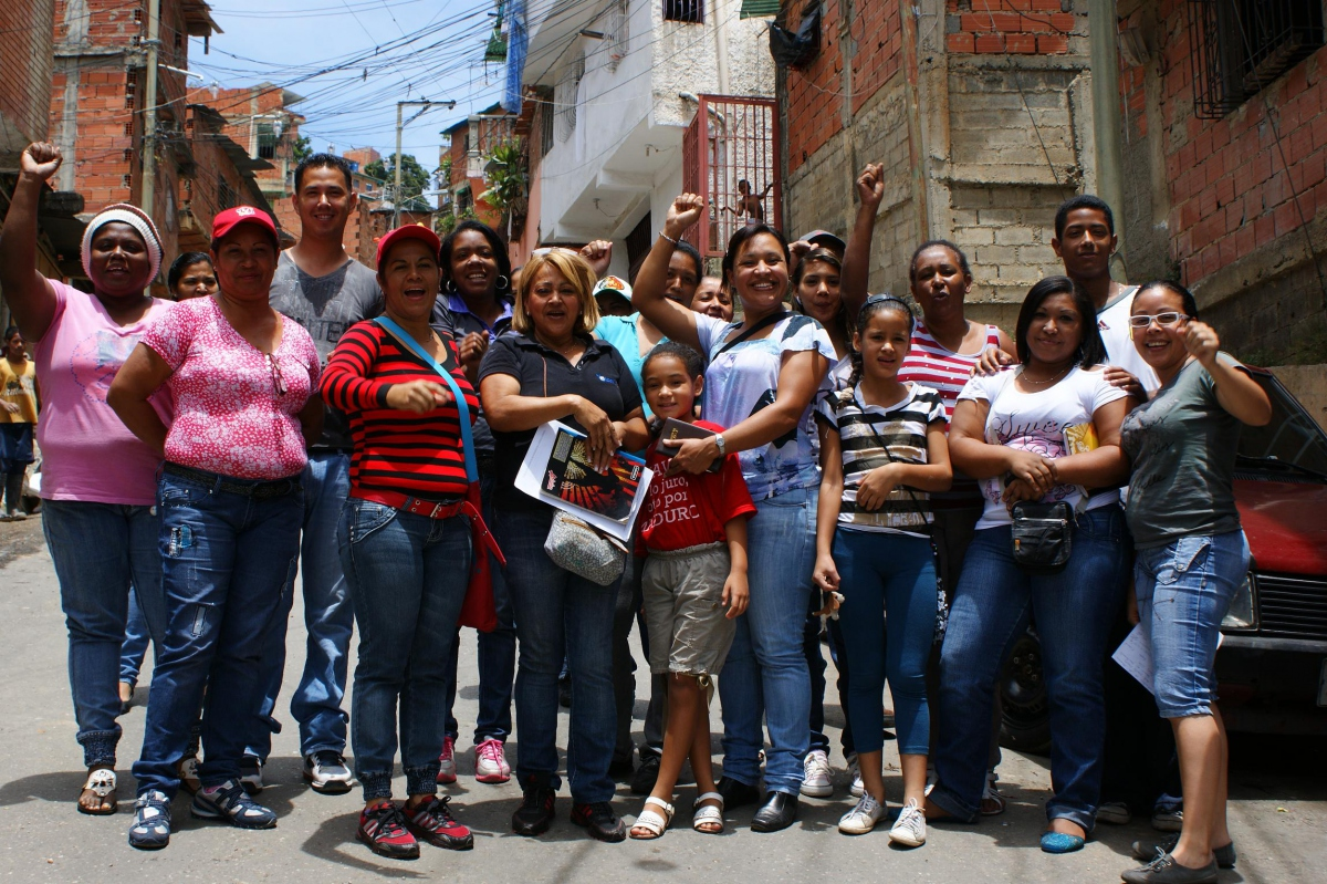 On Sunday local citizens voted to create 169 new communes (Prensa MinComunas)