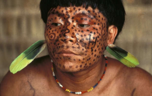 Yanomami Indians have expressed their serious concern about illegal mining on their land (Victor  Englebert/ Survival International)