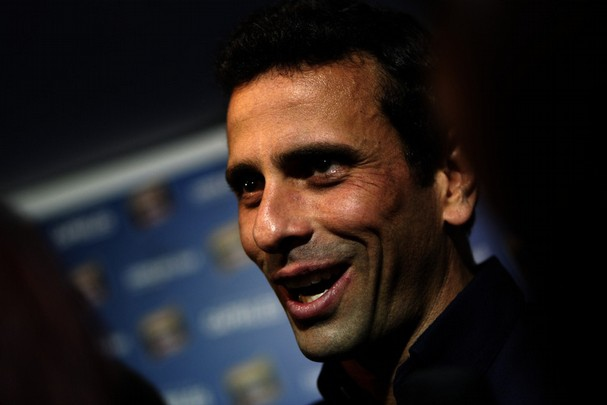Former presidential candidate and de-facto opposition leader Henrique Capriles (AP)