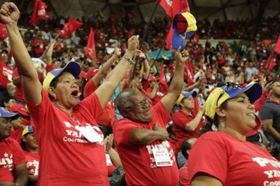 PSUV active members meeting in the lead up to the municipal elections (Telesur/archive)