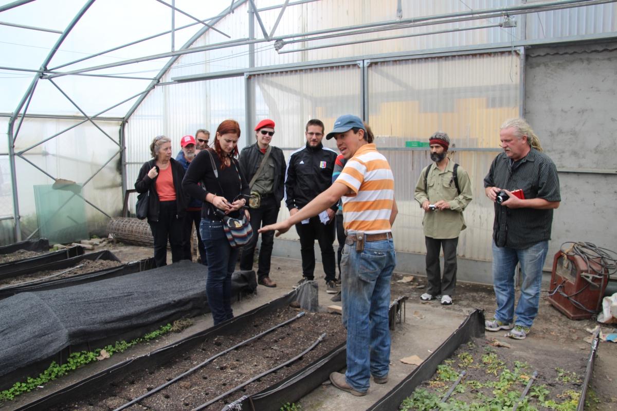 The 2013 AVSN brigade to Venezuela visited the cooperative on 11 December. (Ryan Mallett-Outtrim/Venezuelanalysis)