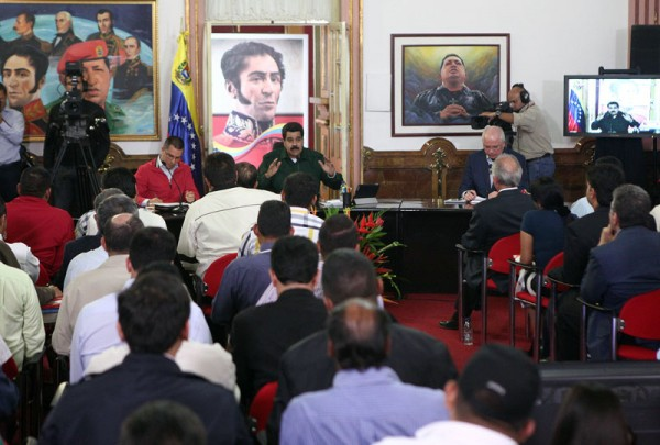 Maduro met with both opposition and GPP elected officials this week (CDO)