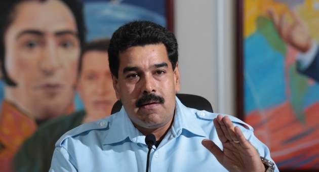 Venezuelan president Nicolas Maduro (archive)