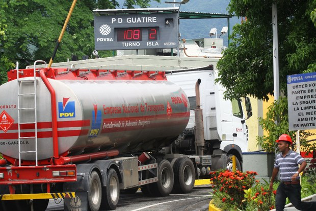 33% of petrol consumed in Venezuela is 95 octane petrol, the most expensive to produce, according to minister Ramirez (archive)