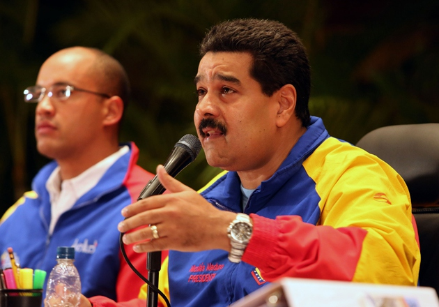 "Venezuelan president Nicolas Maduro appointed several new ministers to his cabinet in a bid to ""renovate"" his government (Prensa Miraflores)"