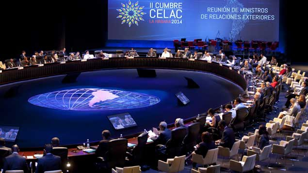 This year's CELAC summit hosted talks on regional concerns that have historically been discussed through the Organisation of American States; such as security and human rights. (EFE)