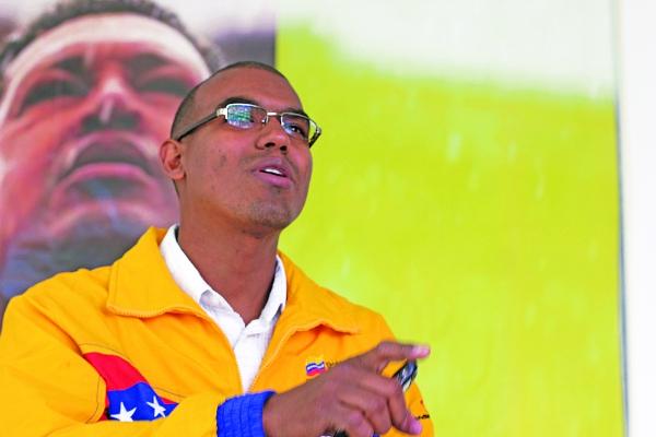 Ministry of communications representative Reinaldo Escorcia (CdO)