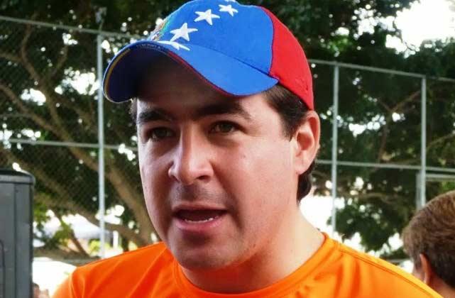 Daniel Cebellos, opposition mayor of San Cristobal (Laiguana TV)