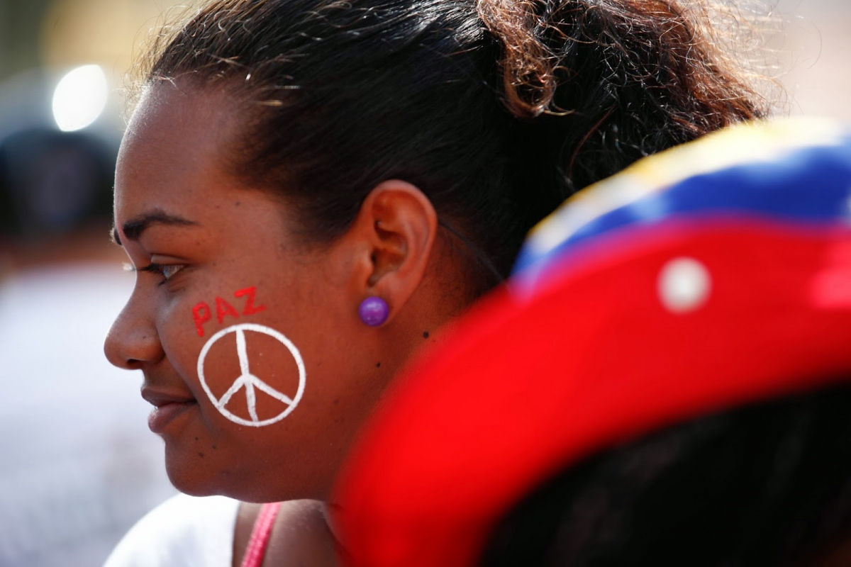 """Golinger argues, """"The revolution that is here to stay is the Bolivarian Revolution, which began in 1998 when Hugo Chavez was first elected president (archive)"""