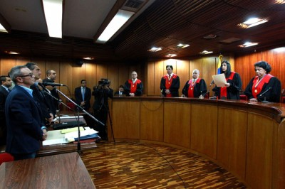The hearing of Enzo Scarano in the Supreme Court on Wednesday (TSJ)