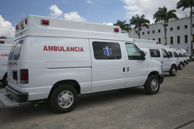 "The ambulances are equipped with the ""latest technology"", according to the vice-president (AVN)"