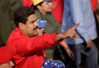 Maduro speaking on Sunday (agencies)