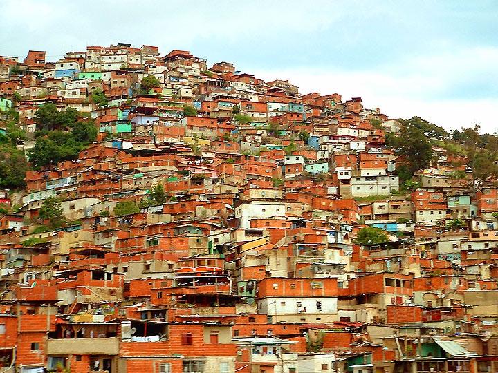 A hillside barrio, Caracas (Psiconauta)