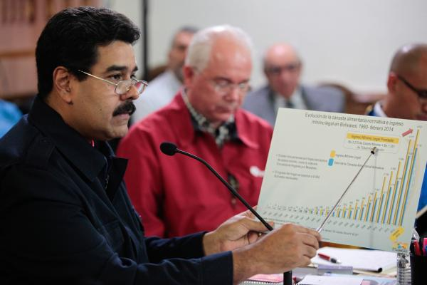 Maduro said the national government has awarded 25 wage increases in the last 15 years (Prensa Presidencial)