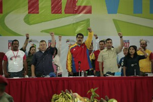 Earlier this month, President Maduro created a Presidential Council of Communal Governance to act as a direct link between the government and communes and receive proposals from communes of how government policy can better support their development. (Oscar Arria)