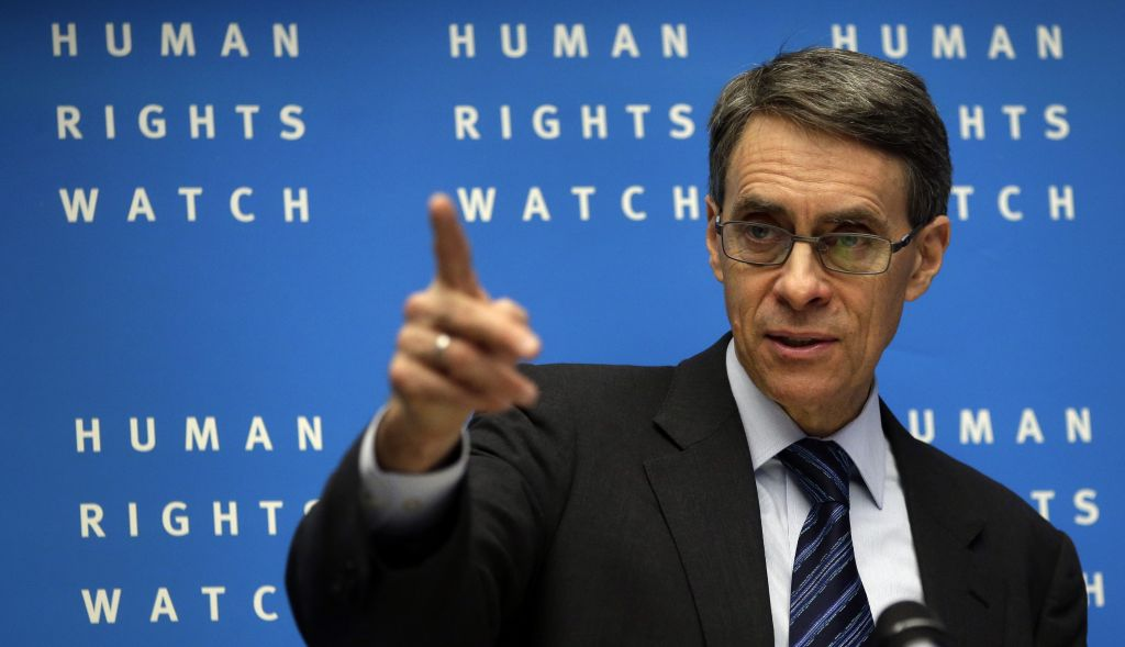 Kenneth Roth, executive director of Human Rights Watch (archive)