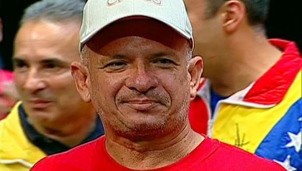 Hugo Carvajal at PSUV's Third National Congress. (Photo: teleSUR)