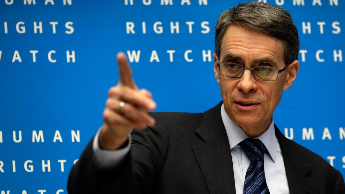Kenneth Roth, executive director of Human Rights Watch. (Reuters)