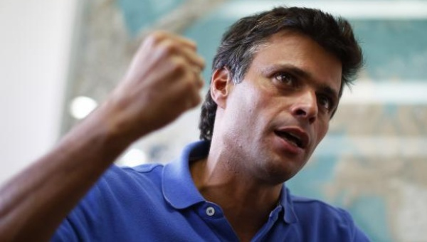 Leopoldo Lopez in an interview in February (Reuters)