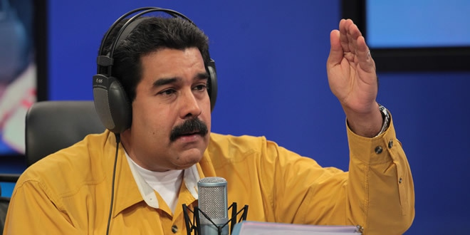 """Speaking on his weekly radio show on Tuesday, Maduro said that he would lead """"a shakeup of the functioning of the old bourgeois state"""" (agencies)"""
