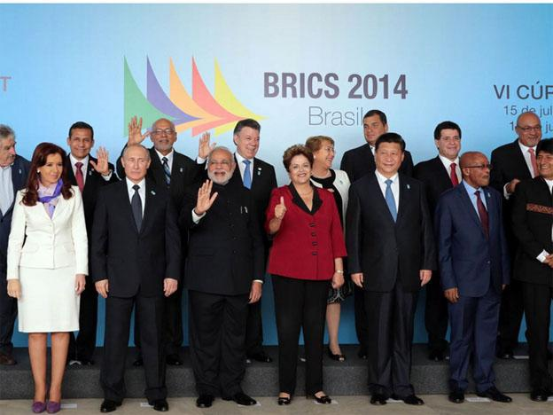 The BRICs summit in Brazil in July 2014 (Andina)