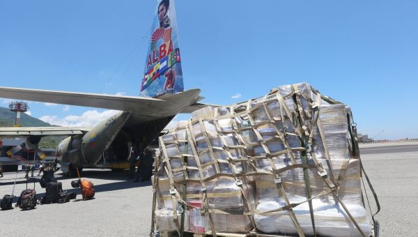 Venezuelan aircraft carrying humanitarian aid to Gaza (Photo: AVN)
