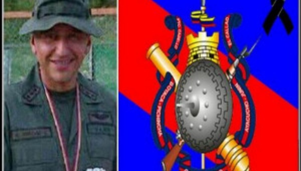 Major Bracho was killed on Friday night (Photo: Radiomundial)