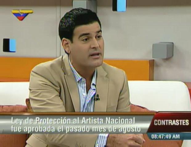 Roberto Messuti on VTV on September 9th, 2014 (archive)