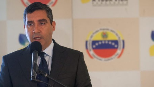 Minister of Interior Miguel Rodriguez Torres gave an interview to daily El Universal (EFE)