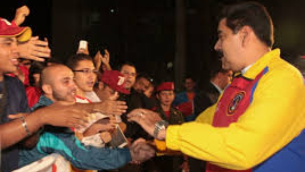 Venezuelan President, Nicolas Maduro, approved the legislation in a celebration attended by the country´s revolutionary youth. (Photo: TeleSUR English)