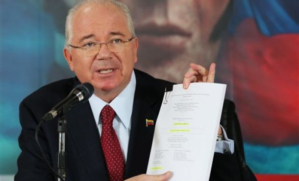 On Friday, Venezuelan foreign minister Rafael Ramirez responded to the statement from the Working Group on Arbitrary Detentions. (agencies)