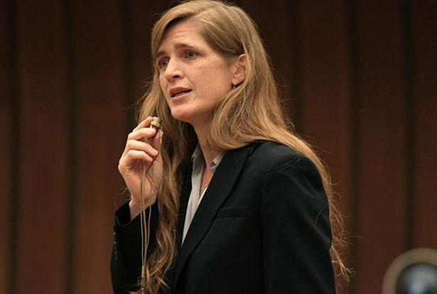 US Ambassador to the United Nations, Samantha Power. (Wikimedia Commons)