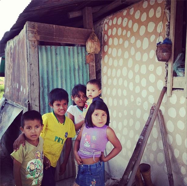 Pemon children in Kumurakapay. (Z.C. Dutka)