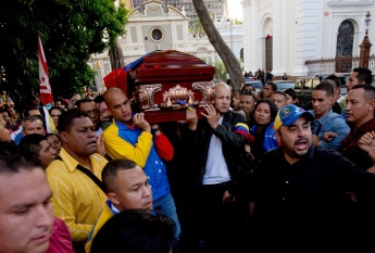 The gruesome assassination of pro-government lawmaker Robert Serra (27) and his partner Maria Herrera last Wednesday has shaken the administration of President Nicolas Maduro and the wider country. (Fernando Llano/Associated Press)
