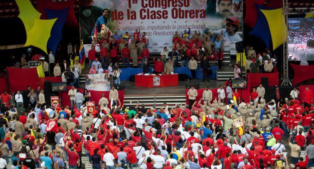 1st Working Class Congress in Caracas. (AVN)