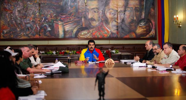 Maduro announced five new laws that were passed via the Enabling Law (AVN).